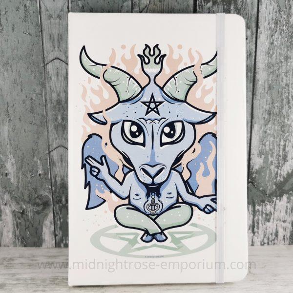 Peace, Love and Satan A5 Hardback Notebook