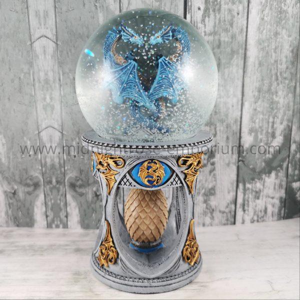 Anne Stokes Dragon Heart Snow Globe