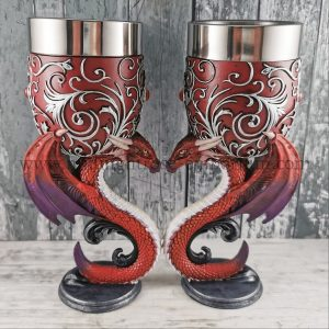 Dragons Devotion Goblets 18.5cm