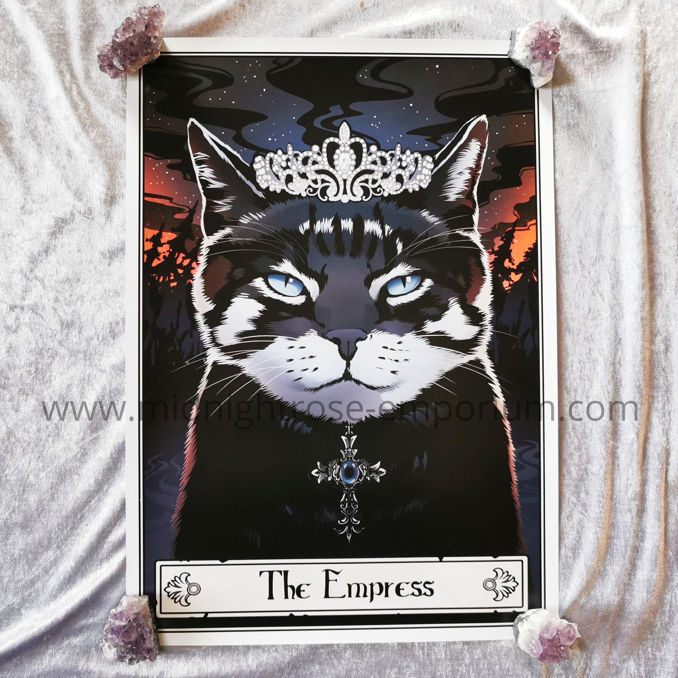 Deadly Tarot Felis 'The Empress' Mini Art Poster