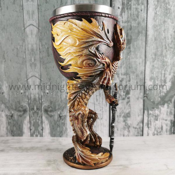Flame Blade Dragon Goblet