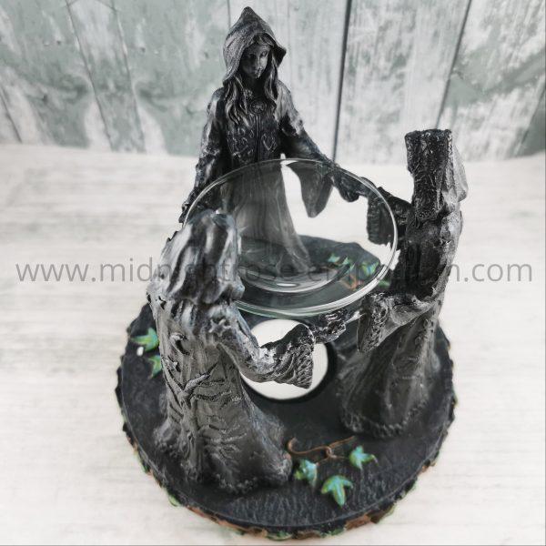 'Magik Circle' Maiden, Mother & Crone Oil Burner