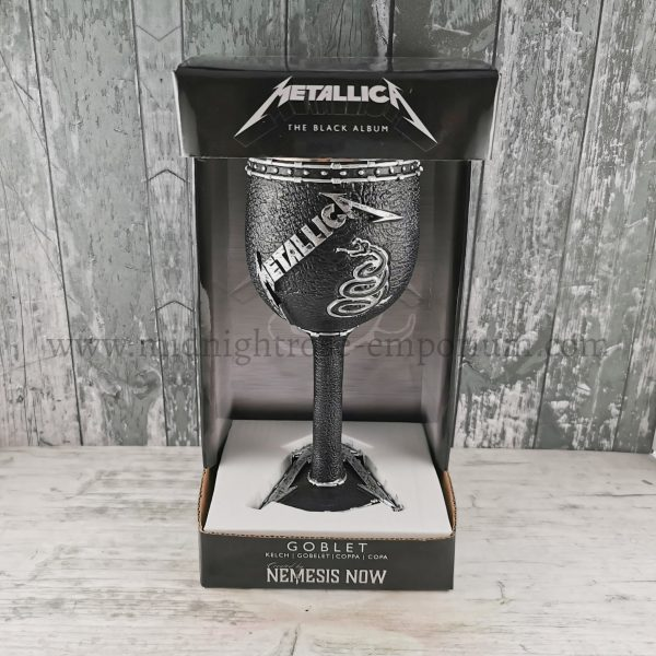 Metallica Black Album Goblet