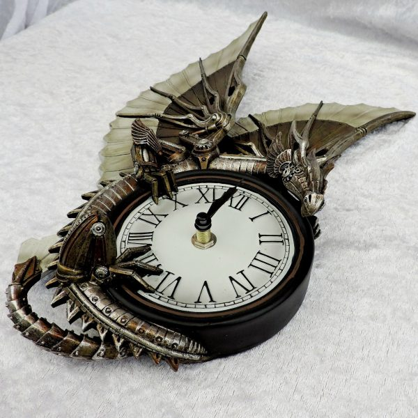 Clockwork Dragon Wall Clock - Anne Stokes - 25cm