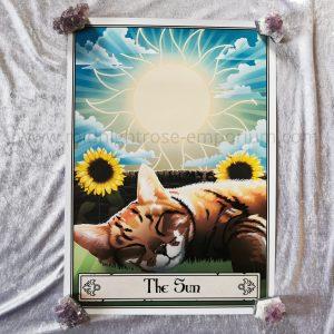 Deadly Tarot Felis 'The Sun' Mini Art Poster