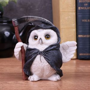 'Reaper's Flight' Owl Figurine 12.5cm