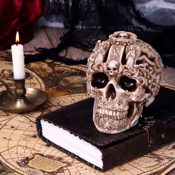 Gothic Skull 19cm