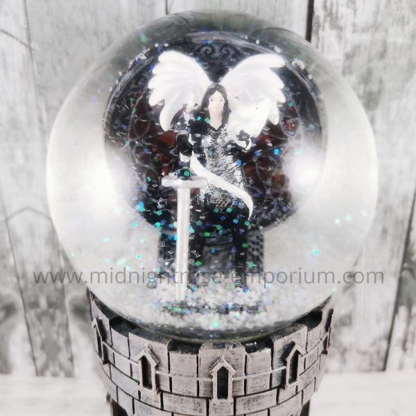 Anne Stokes Valour Snow Globe