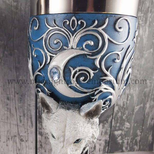 Wild at Heart Wolf Goblets 18.5cm