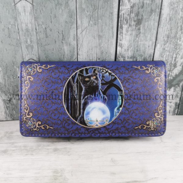 The Witches Apprentice Black Cat Purse