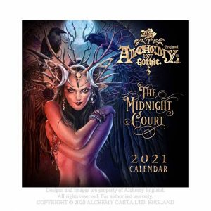 Alchemy Gothic 'The Midnight Court' 2021 Calendar