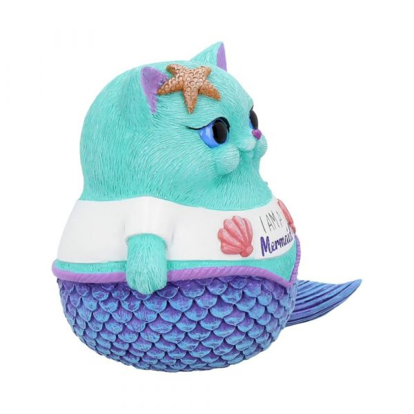 'I Am A Mermaid' Cat Ornament 8.5cm