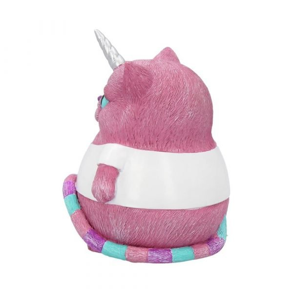 'I Am A Unicorn' Pink Cat Ornament 8.5cm