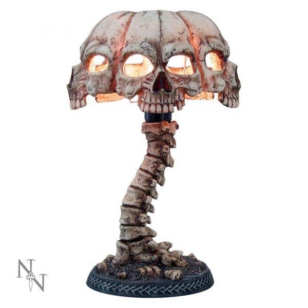 'Atrocity' Skull Lamp 37.5cm