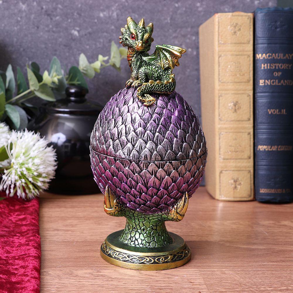 Egg Guardian Dragon Figurine 18.7cm