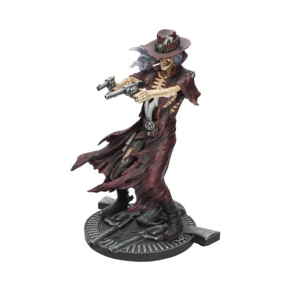 Gunslinger Skeleton Shooter Figurine 22cm (James Ryman)