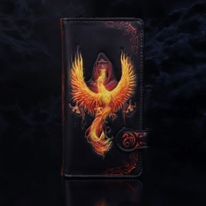 Anne Stokes 'Phoenix Rising' Embossed Purse