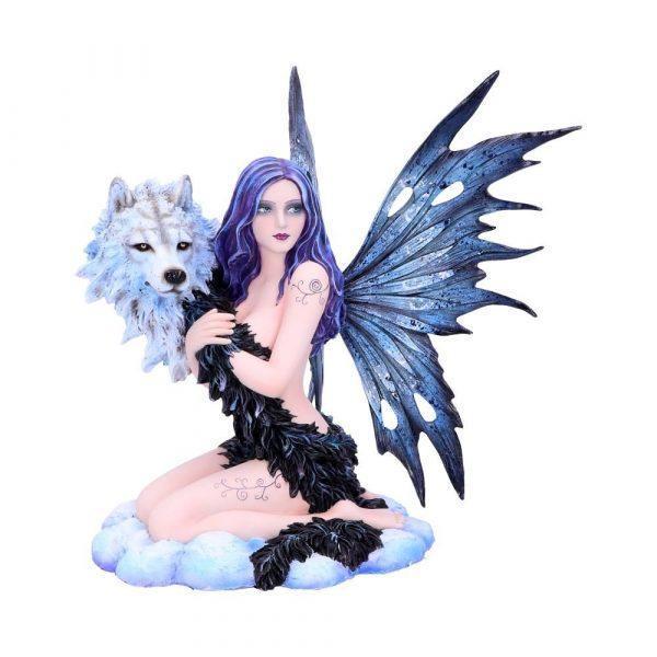 'Spirit Wolf' Fairy Figurine 33.5cm