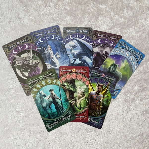 Anne Stokes Legends Tarot Cards