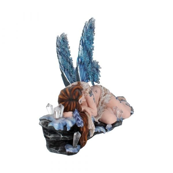 'Lizzy' Blue Crystal Fairy Figurine 42cm