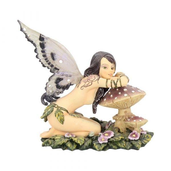 'Serena' Toadstool Fairy Figurine 13cm