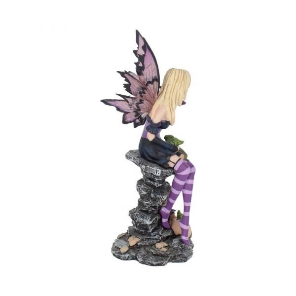 'Amethyst and Hatchlings' Fairy & Dragons Figurine 25.5cm
