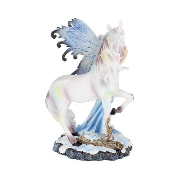 'Comfort' Fairy & Unicorn Figurine 21.5cm