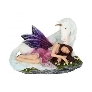 'Euone' Fairy & Unicorn Figurine 16cm