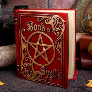 Red Book of Spells Secret Storage Box 15.5cm