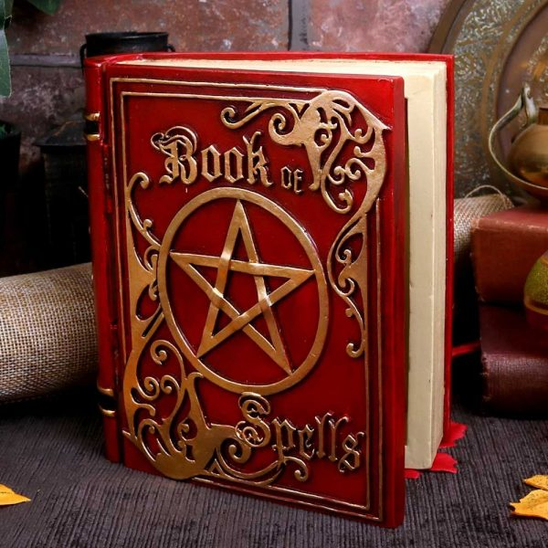 Red Book of Spells Secret Storage Box 15.5cm