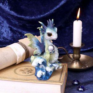 Water Hatchling Dragon Figurine - PRE ORDER