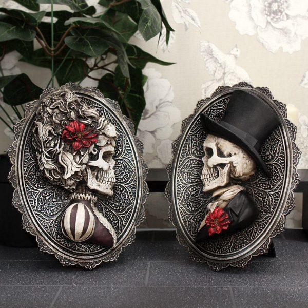 'Handsome' Edwardian Skeleton Plaque