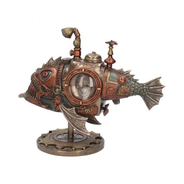 Sub Piranha Steampunk Figurine