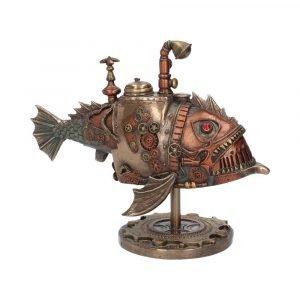 Sub Piranha Steampunk Figurine