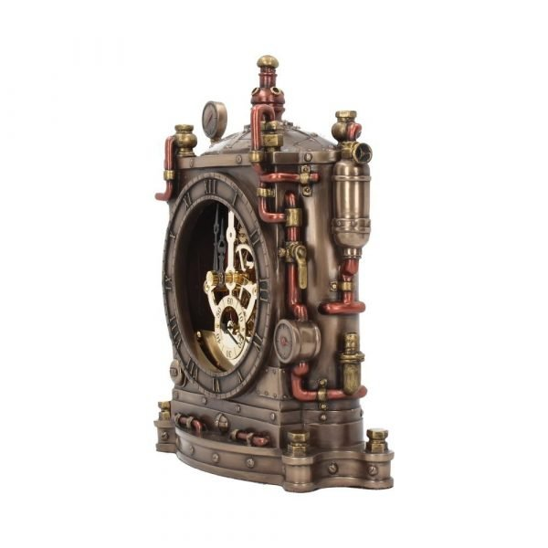 'Horologist' Steampunk Mantel Clock
