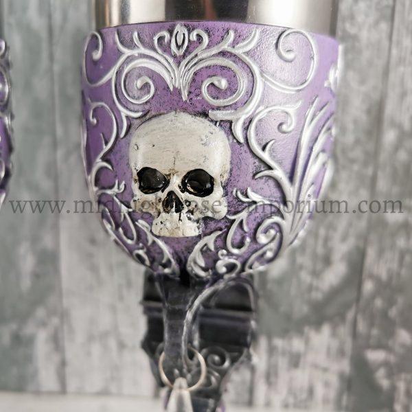 Deaths Desire Skull Goblets 18.5cm