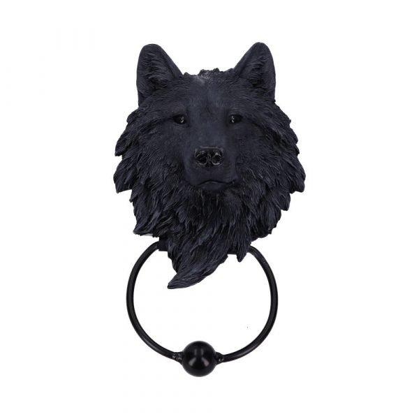 Dark Guardian Wolf Door Knocker 22.8cm