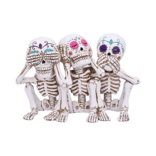 Three Wise Calaveras 20.3cm