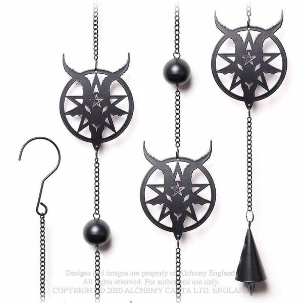 Alchemy Gothic Baphomet Hanging Decoration