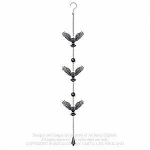 Alchemy Gothic Night Owl Hanging Decoration