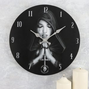 gothic prayer clock