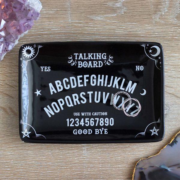 Black Talking Board Trinket Dish