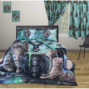hubble bubble cats bedding