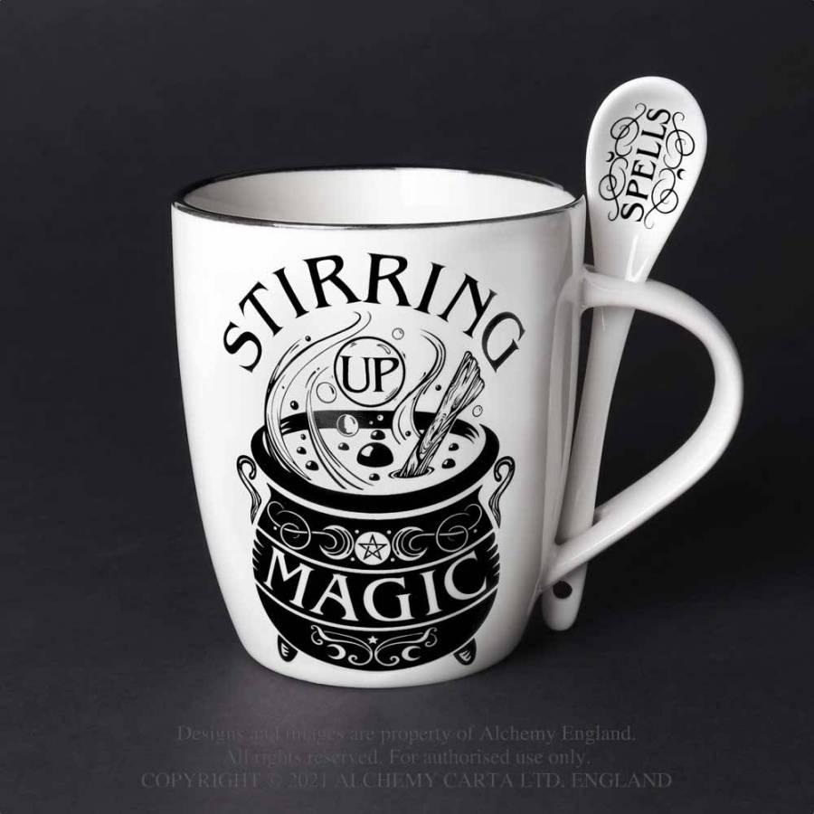 stirring up magic mug