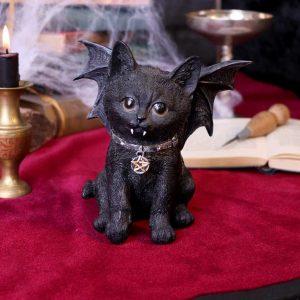 Vampuss Bat Cat Figurine