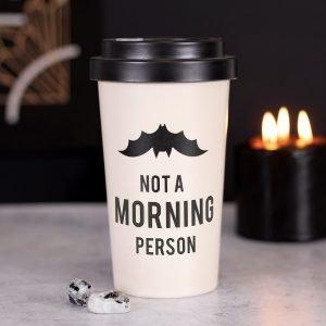 not a morning person travel mug