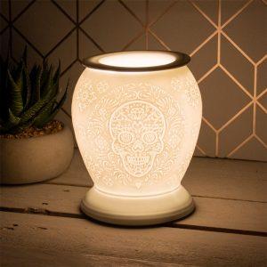 sugar skull aroma lamp